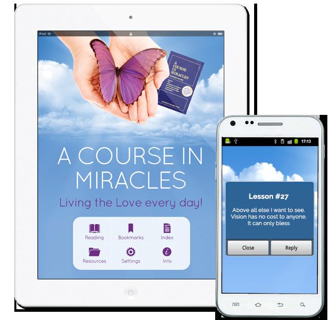 ACIM App iPhone & iPad